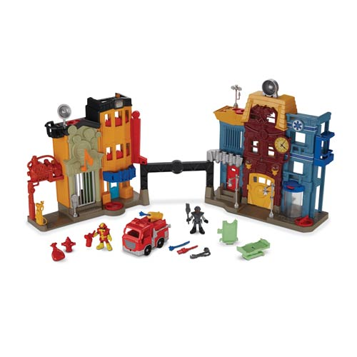 Imaginext Rescue City Center Playset