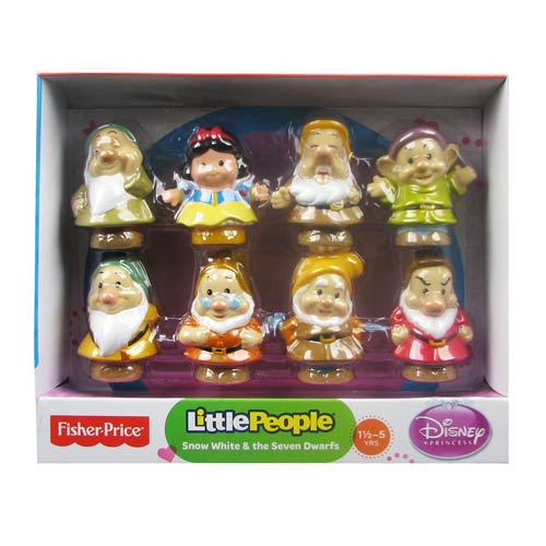 Snow White Disney Princess Little People Mini-Figure Set