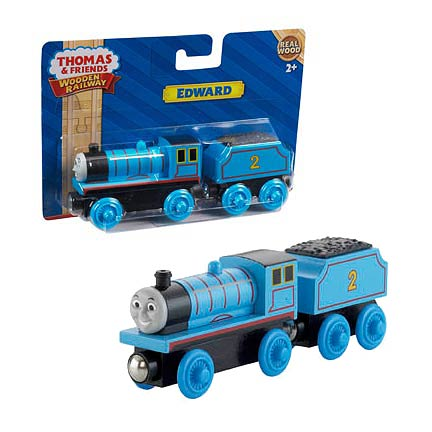 Thomas the Tank Engine Edward Wooden Railway Engine Vehicle