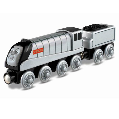 Thomas the Tank Engine Spencer Wooden Railway Engine Vehicle