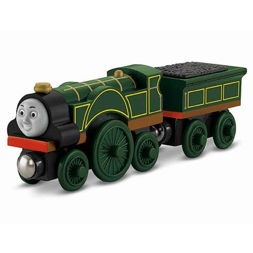 Thomas the Tank Engine Emily Wooden Railway Engine Vehicle