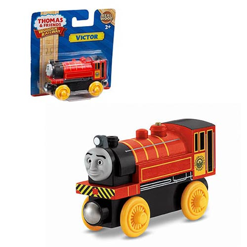 Thomas the Tank Engine Victor Wooden Railway Engine Vehicle