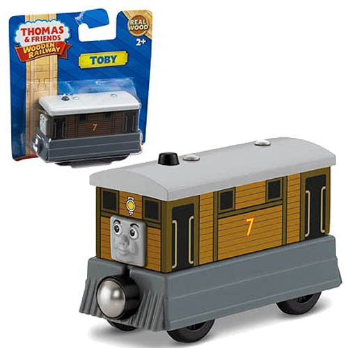 Thomas the Tank Engine Toby Wooden Railway Engine Vehicle