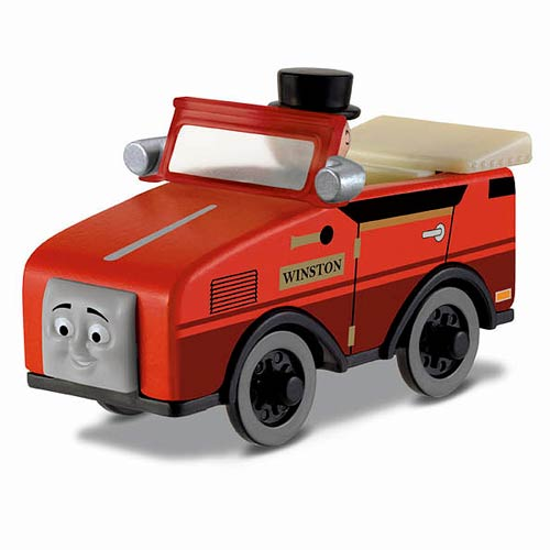 Thomas the Tank Engine Winston Wooden Railway Engine Vehicle
