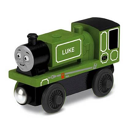 Thomas the Tank Engine Luke Wooden Railway Engine Vehicle