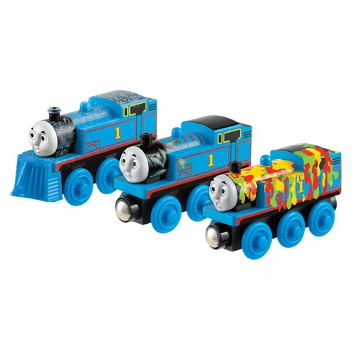 Adventures of Thomas the Tank Engine Wooden Railway 3-Pack