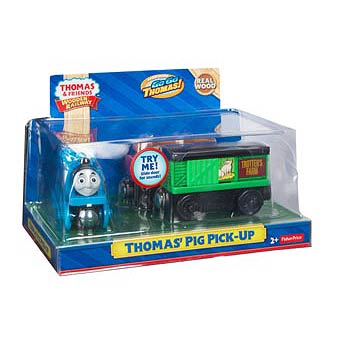 Thomas the Tank Engine Wooden Railway Thomas' Pig Haul