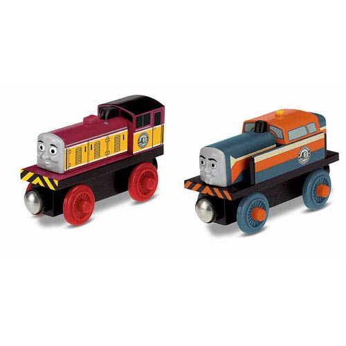 Thomas the Tank Engine Wooden Railway Den and Dart 2-Pack
