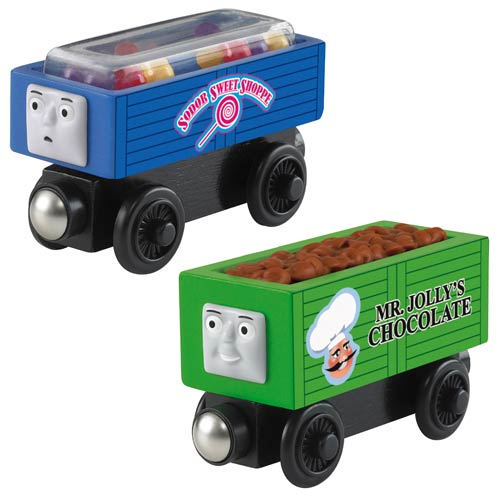 Thomas the Tank Engine Wooden Railway Sodor Sweet Train Set