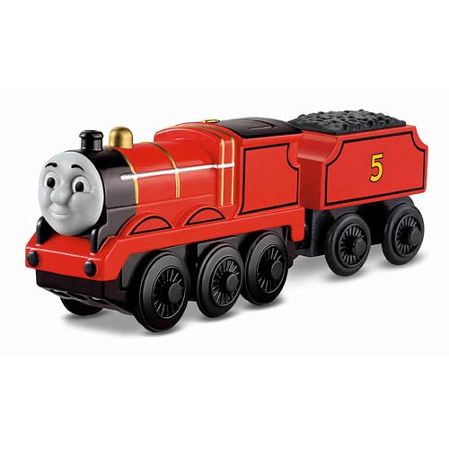 Thomas Wooden Railway Battery Powered James Engine Vehicle