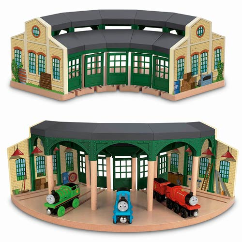 Thomas the Tank Engine Wooden Railway Tidmouth Sheds Set