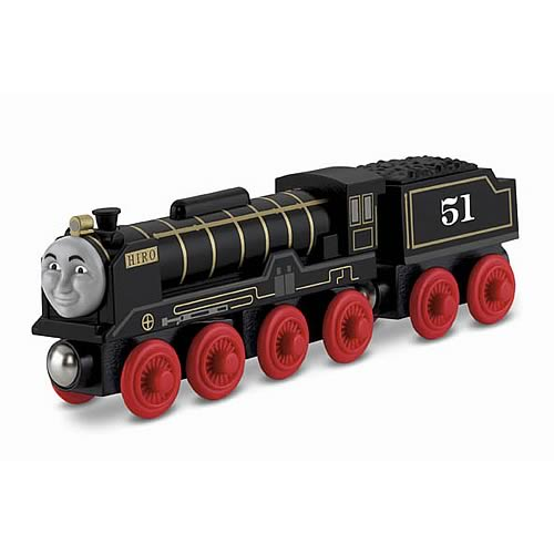 Thomas the Tank Engine Hiro Wooden Railway Engine Vehicle