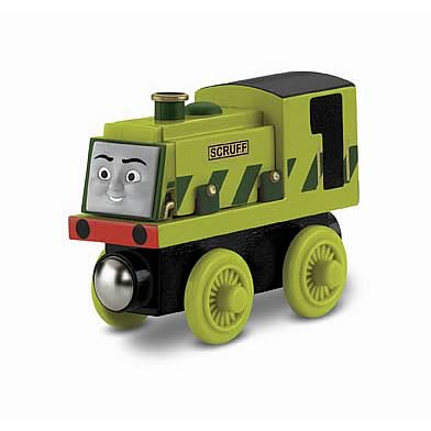 Thomas the Tank Engine Scruff Wooden Railway Engine Vehicle