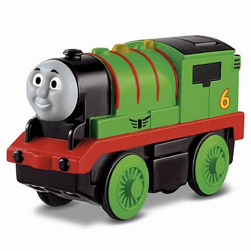 Thomas the Tank Engine Percy Wooden Railway Engine Vehicle