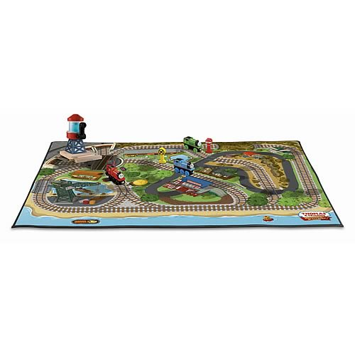 Thomas the Tank Engine Wooden Railway Felt Playmat Playset