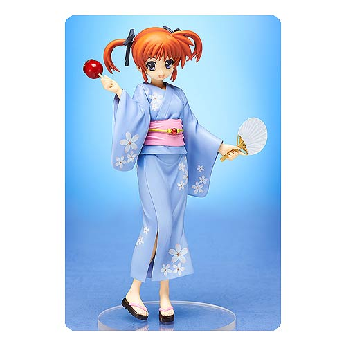 Magical Girl Lyrical Nanoha Nanoha Takamachi Yukata Statue