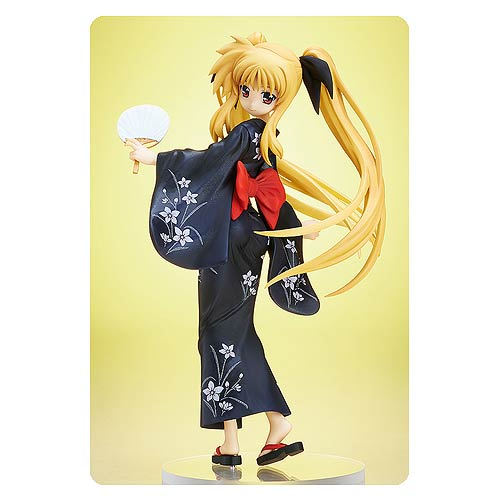 Magical Girl Lyrical Nanoha Fate Testarossa Yukata Statue