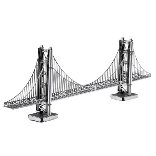 Golden Gate Bridge Metal Earth Model Kit