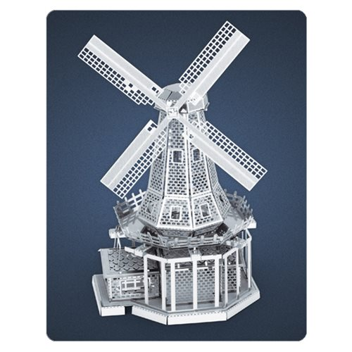 Windmill Metal Earth Model Kit