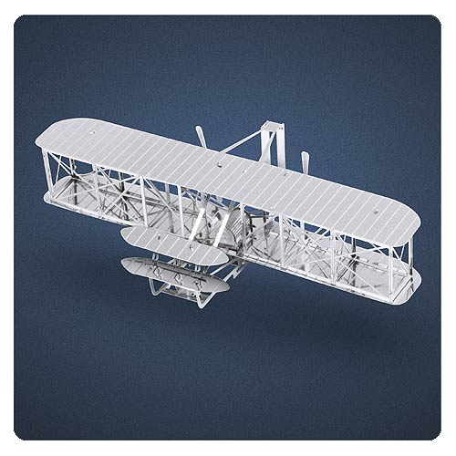 Wright Brothers Airplane Metal Earth Model Kit