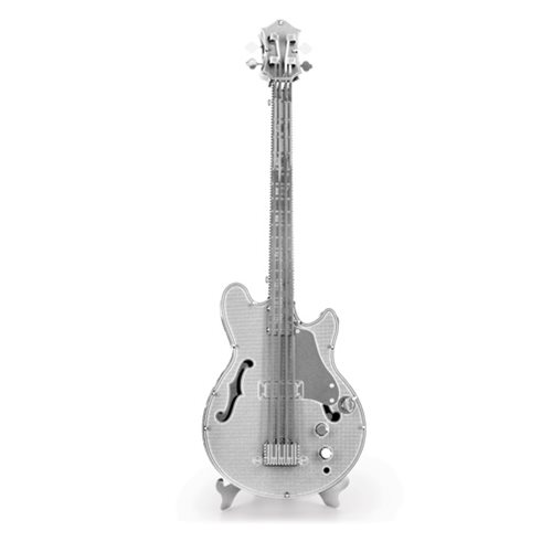 Electric Bass Guitar Metal Earth Model Kit