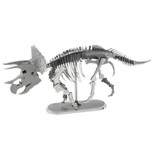 Triceratops Skeleton Metal Earth Model Kit