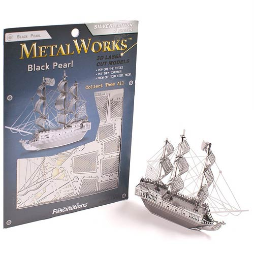 Black Pearl Metal Earth Model Kit