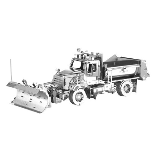 Freightliner_Metal_Earth_Snow_Plow_Model_Kit