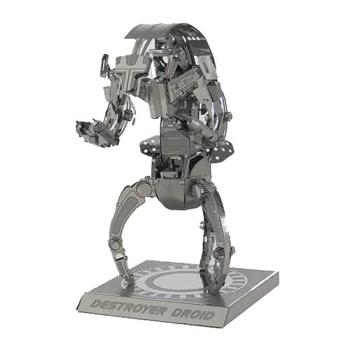 Star Wars Destroyer Droid Metal Earth Model Kit