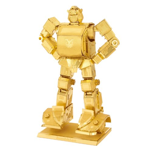 Transformers Gold Bumblebee Metal Earth Model Kit