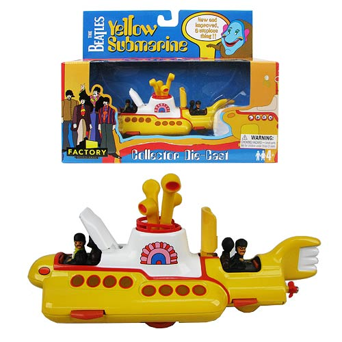 Beatles Yellow Submarine Die-Cast Vehicle