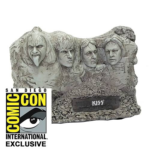 KISS Mount KISSmore SDCC 2012 Exclusive 5-Inch Statue