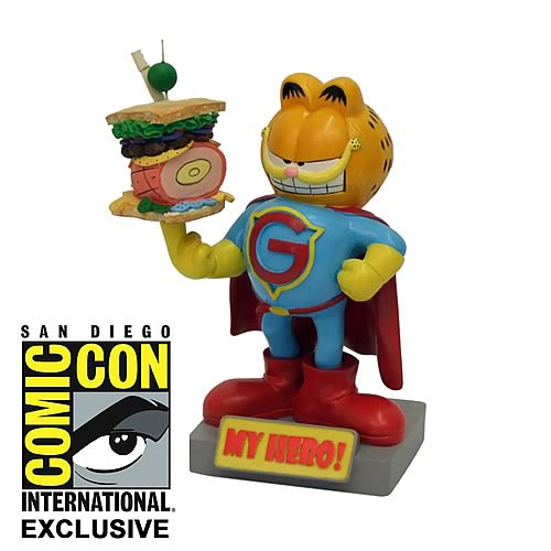 Garfield Cat My Hero SDCC 2012 Exclusive Bobble Head