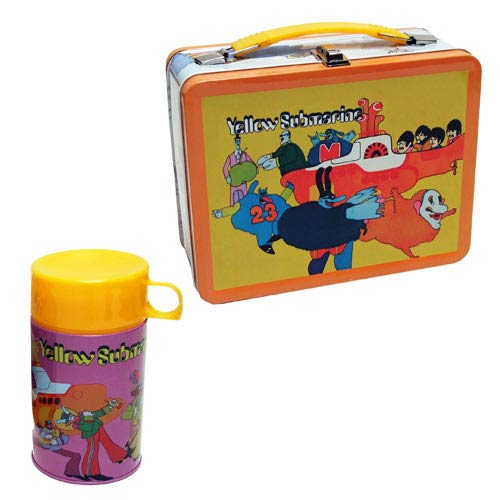 The Beatles Yellow Submarine Retro Style Metal Lunch Box