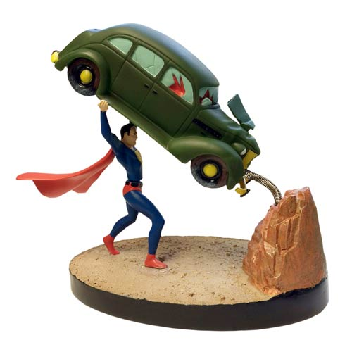 Superman Action Comics #1 Premium Motion Statue