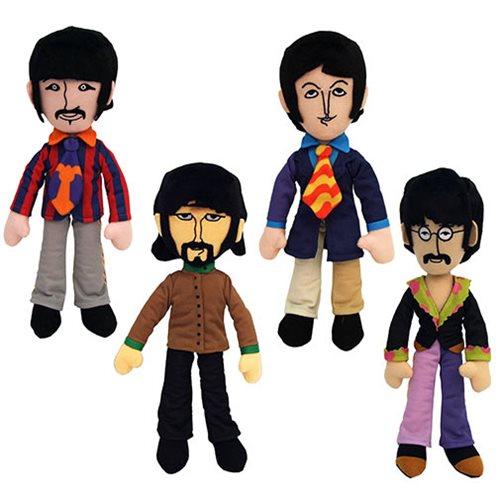 Beatles Yellow Submarine Band Member Plush Box Set