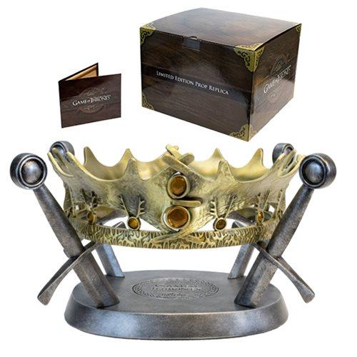 Game of Thrones King Robert Baratheon Crown Prop Replica