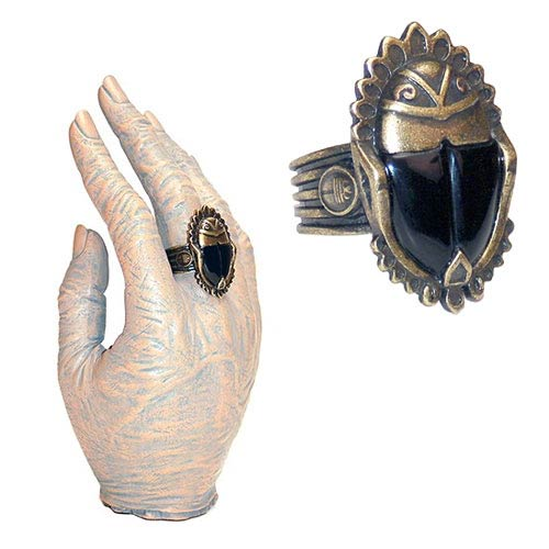 Universal Monsters The Mummy Imhotep's Scarab Ring Replica