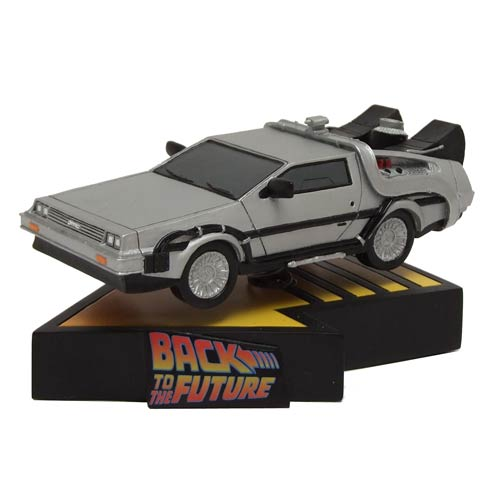 Back to the Future DeLorean Time Machine Motion Statue