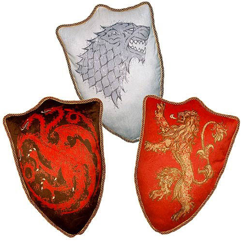 Game of Thrones House Sigil Throw Pillow Set