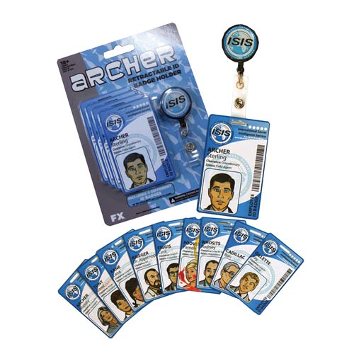 Archer Identification Badge Holder and Cards