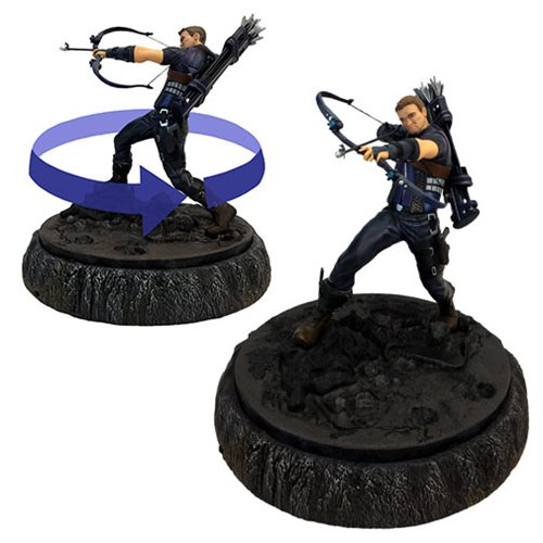 Avengers Hawkeye and Ant-Man Premium Motion Statue