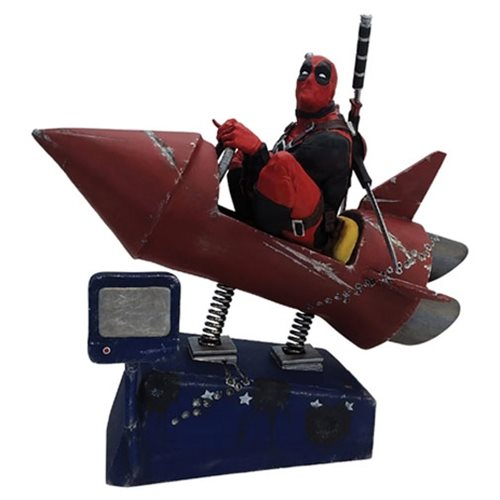 Deadpool's Rocket Ride Blasts Off!
