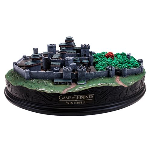 Game of Thrones Winterfell Desktop Statue