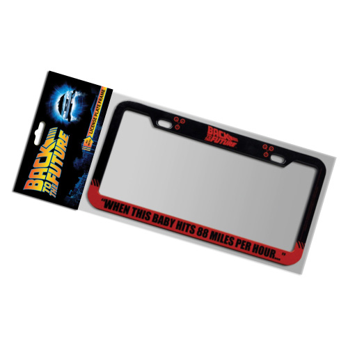Back To The Future 88 Mph License Plate Frame Factory