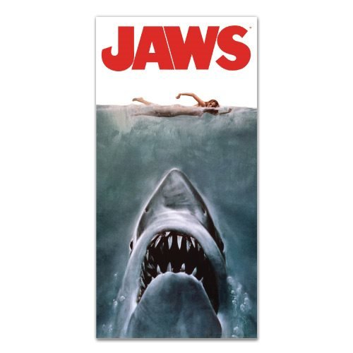 Jaws Movie Poster Beach / Bath Towel
