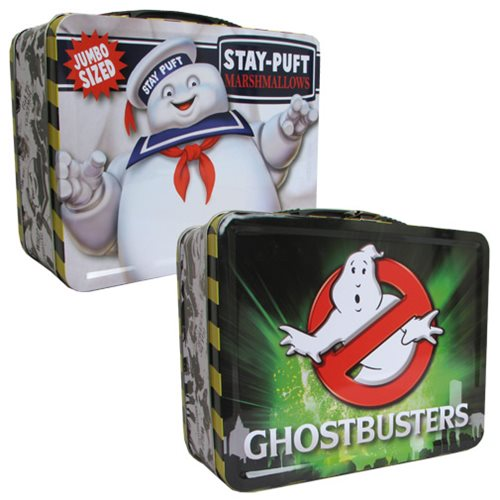 Ghostbusters Stay Puft Tin Tote Lunch Box