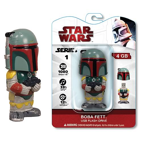 Star Wars Boba Fett 4 GB USB Flash Drive