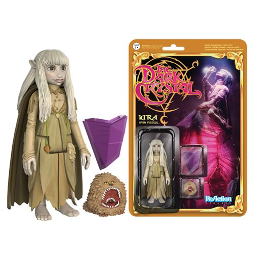 Dark Crystal Kira and Fizzgig ReAction 3 3/4-Inch Figure