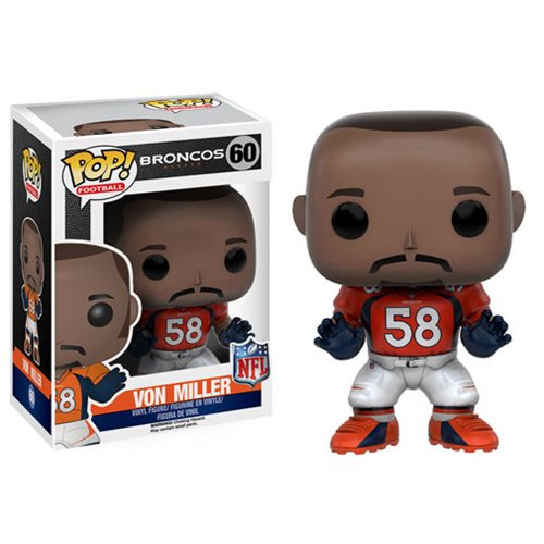 NFL Von Miller Wave 3 Pop! Vinyl Figure